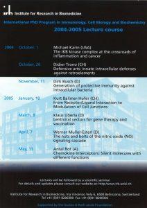 PhD Program 2004-2005