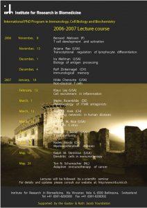 PhD Program 2006-2007
