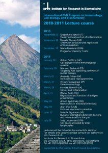 PhD Program 2010-2011