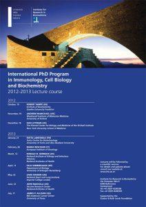 PhD Program 2012-2013