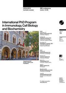 PhD Program 2018-2019